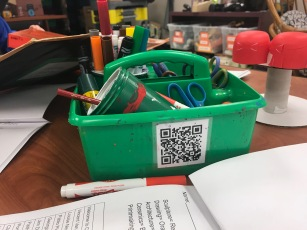 QR Code for Artist Statement Directions