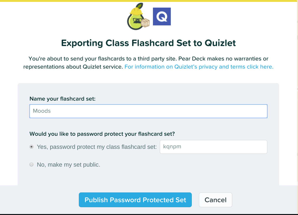 Take The Boring Out Of Flashcards With Pear Deck's Flashcard Factory